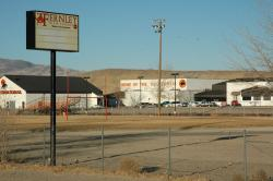 Fernley High School as seen from Highway 95