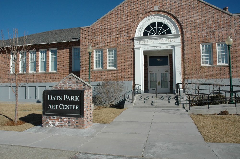 The Oats Park Arts Center.