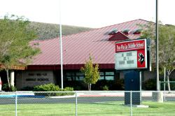 The Pau-Wa-Lou Middle school in Minden, NV.