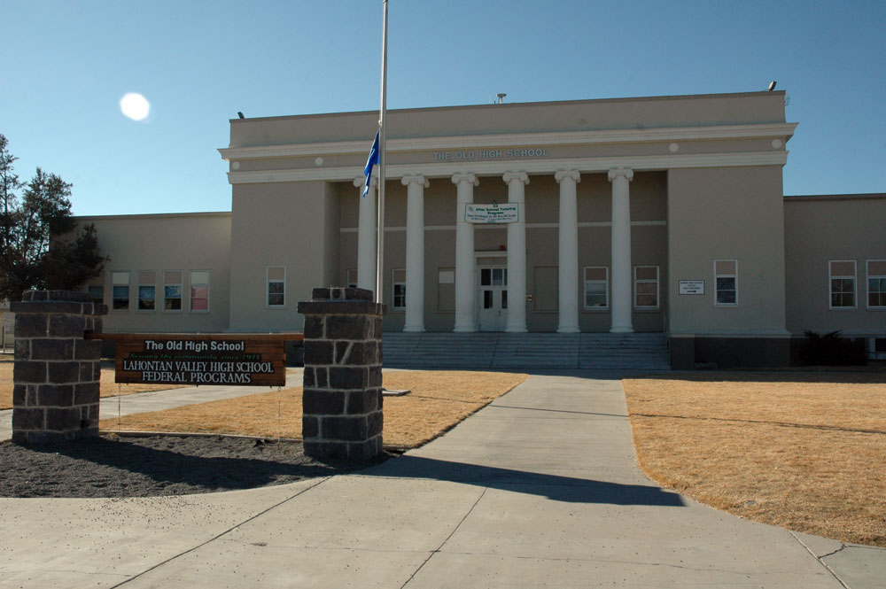The Old High School is the site for many classes and community events.