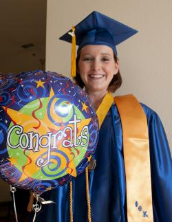 2011 Graduate Mary Ashmore of Fallon