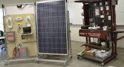 Learning Skills at WNCs Solar, Wind Tech Training Wall