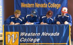 Wildcats Baseball Players Sign National Letters of Intent.