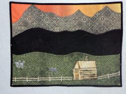Pony Express Quilt by Connie Laderman