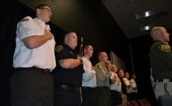 POST Academy Graduation - Pledge of Allegiance