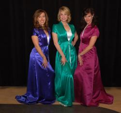 A Grand Night For Singing performers include, from left: Maria Arrigotti, Sarah Pennebaker, and…