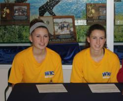 Hospoda Twins Sign with Wildcats