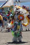A young dancer at the 2008 Pow Wow