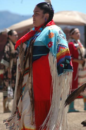 Indian Woman at 2008 Pow Wow