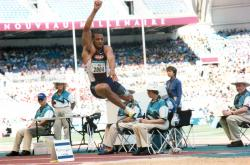 John Register at the 2000 Paralympics