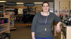 Kelly McNamara is the new Follett bookstore manager.
