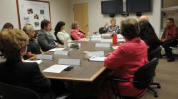 Asst. U.S. Secretary of Adult Ed, Dr. Brenda Dann-Messieur meets with WNC and state Adult Education…