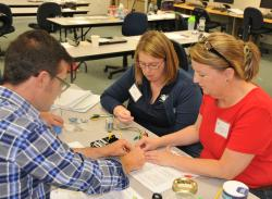 WNC Faculty, Carson Library Train for New Tech Program