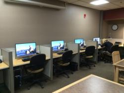 Larger Monitors Assist Graphic Design Students