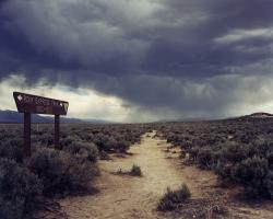 Pony Express Trail Near Austin, NV by Daniel Cheek