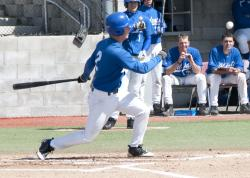 Jay Skilton at bat