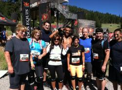 WNCs Tough Mudder team poses for pictures before the event in July at Northstar California.