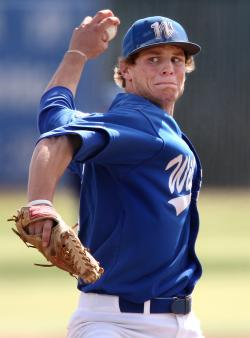 Christian Stolo is the top returning pitcher for the Wildcats.