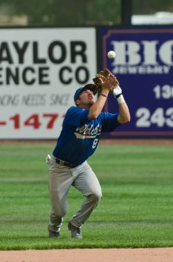 Wildcats shortstop Chris Woolley makes a sure-handed grab. Photos provided by Charles Pearson