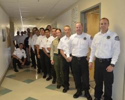 Peace Officer Academy Cadets Prepare to Graduate