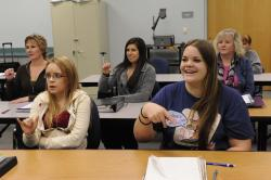 Deaf Studies Students Learn Sign Language