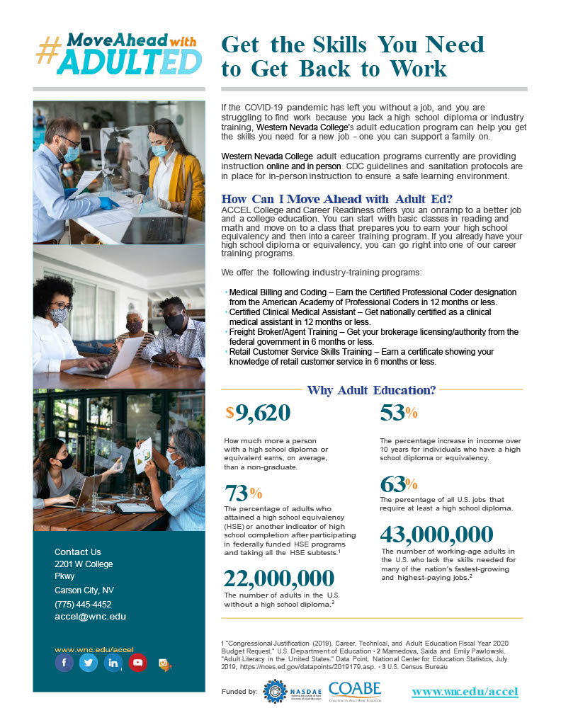 Fact Sheet about adult education